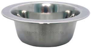 Миска металлическая (Уют) 0,18 л