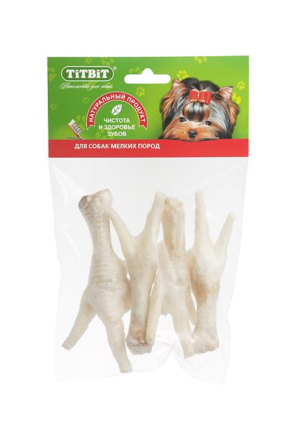 TiTBiT куриные лапки (мягк.упаковка) №000298