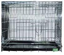 Клетка для животных 042 (78*48*55) хром