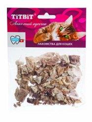 TiTBiT говяжье легкое (мягк. упаковка) для кошек №005187