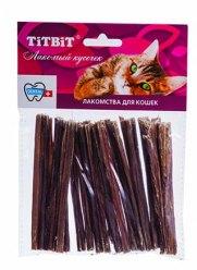 TiTBiT бараньи кишки (мягк. упаковка) для кошек №005217