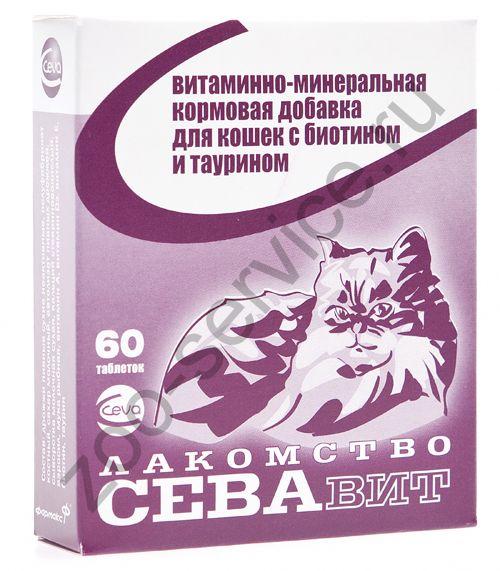 Ceva поливитамины: для кошек биотин и таурин 60 таб.