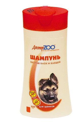 Шампунь Доктор ZОО: д/собак от блох и клещей 250 мл