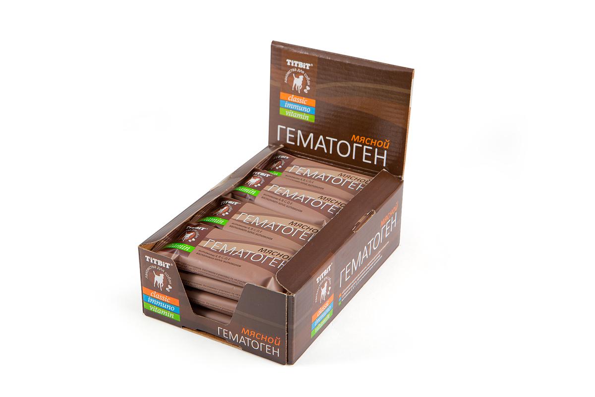 TiTBiT лакомство-гематоген мясной vitamin 38 гр №005903
